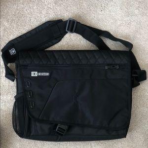 Ogio Black laptop messenger bag. Brand new